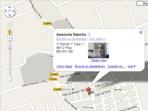 Haz click sobre la imagen para acceder a GOOGLE MAPS